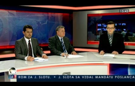 TA3 HOSŤ V ŠTÚDIU: V. Sirotka a Ľ. Vančo o zmenách pre živnostníkov 20.4.2012