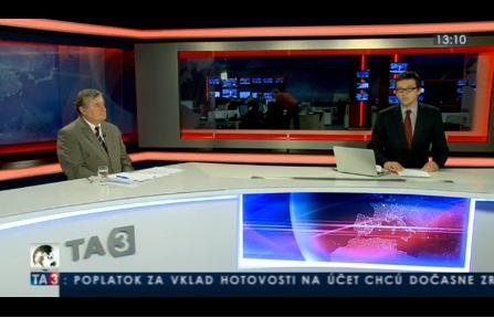TA3 HOSŤ V ŠTÚDIU: Vladimír Sirotka o ochrane subdodávateľov 26.9.2012