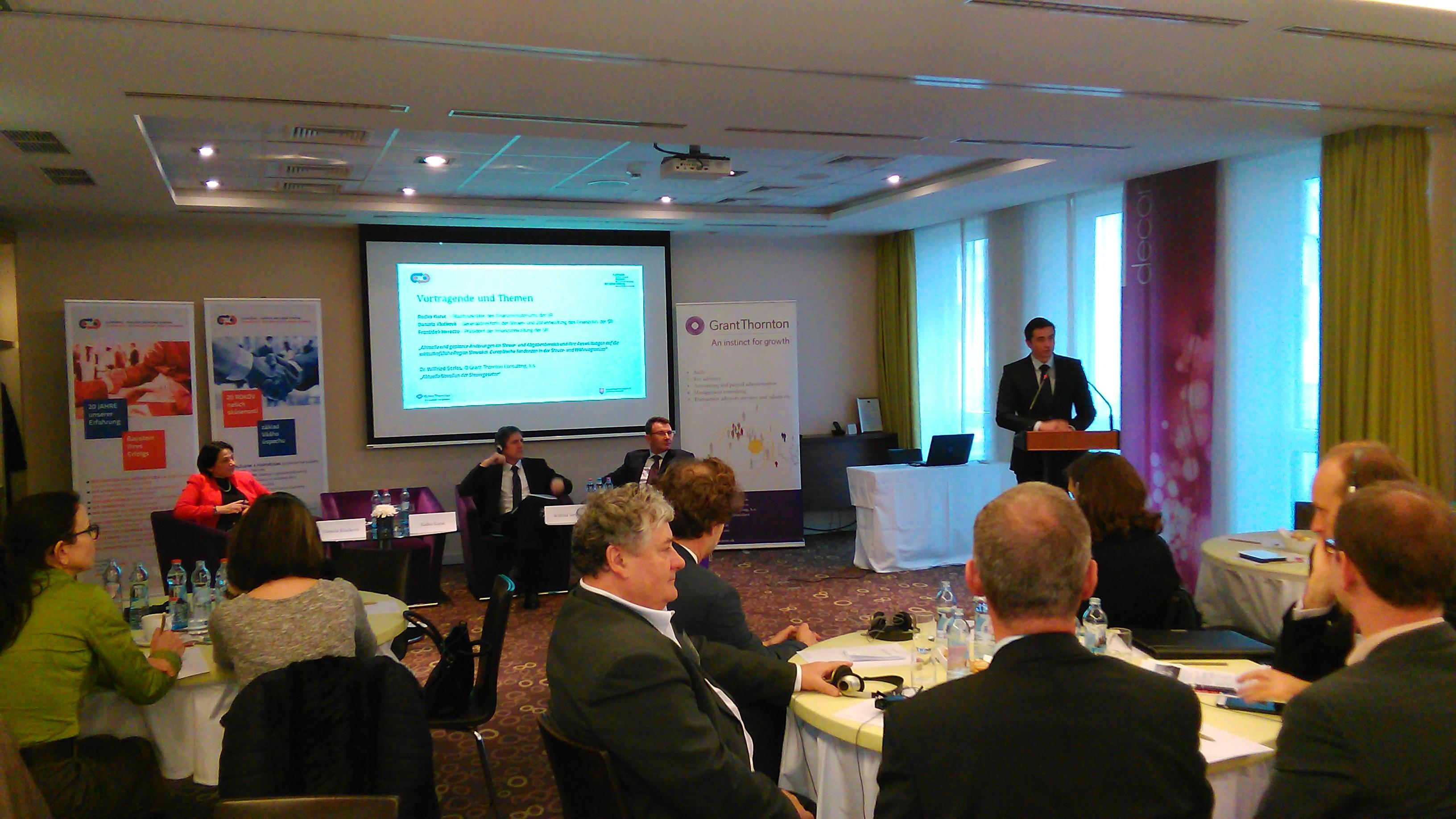 Aktuálne a plánované zmeny v daňovej a odvodovej oblasti a ich dopady na ekonomický región Slovensko