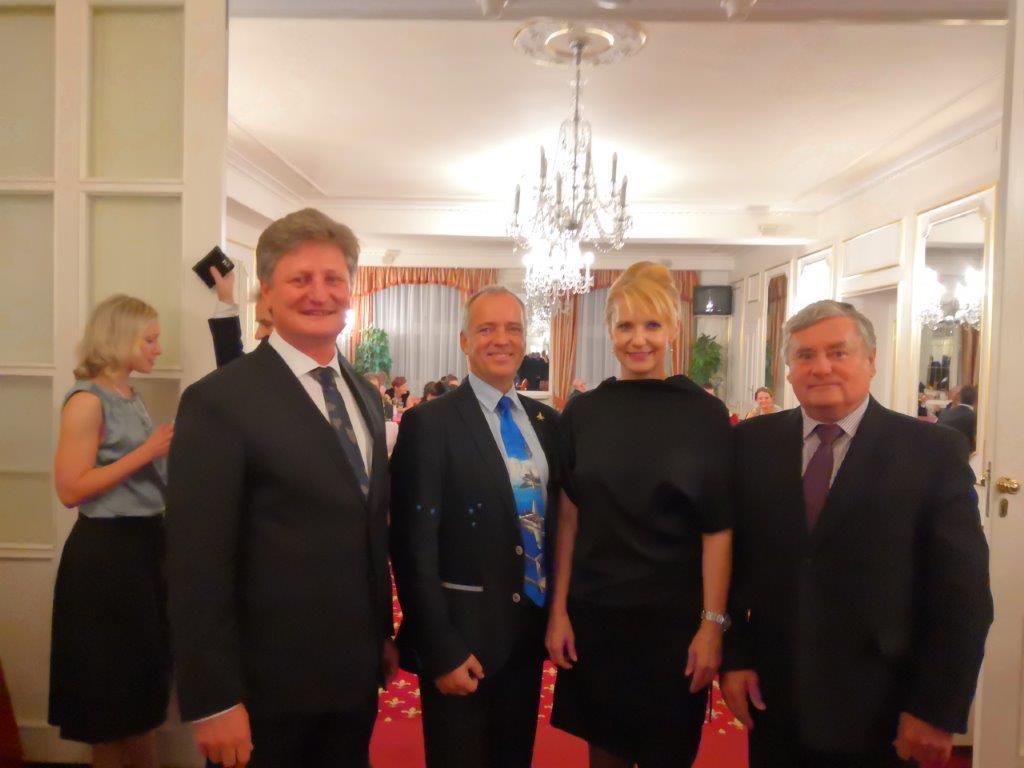 Stretnutie Klubu rodinných podnikateľov v Prahe 10.10.2018