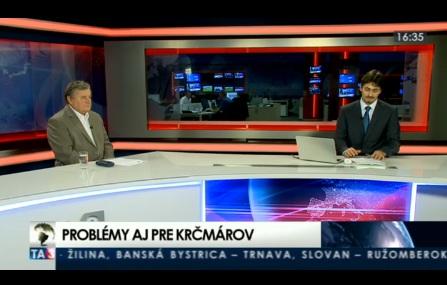 TA3 HOSŤ V ŠTÚDIU: Vladimír Sirotka o problémoch s českým alkoholom 4.10.2012